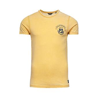 Jack and Jones Burn Tee O-Neck Yellow T-Shirt