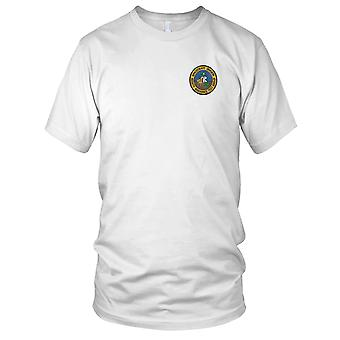USAF Airforce - 6555th Aerospace Test Group Embroidered Patch - Mens T Shirt