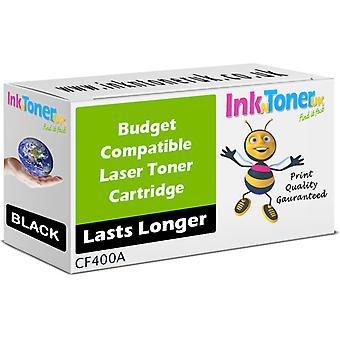 Toner noir CF400A 201 a compatible pour HP couleur LaserJet Pro MFP M277