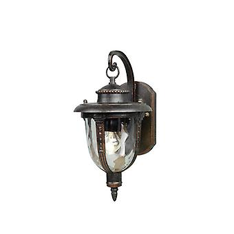 Elstead STL2/M St Louis Ext Medium Wall Lantern in Weathered Bronze