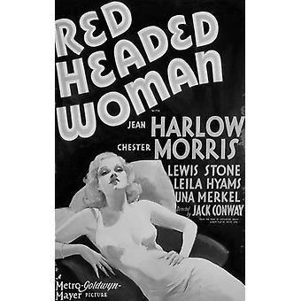 Red-Headed Woman Movie Poster (11 x 17)