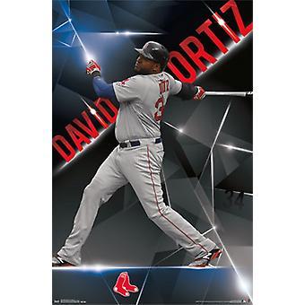 Boston Red Sox - David Ortiz 2015 Plakat Poster Print