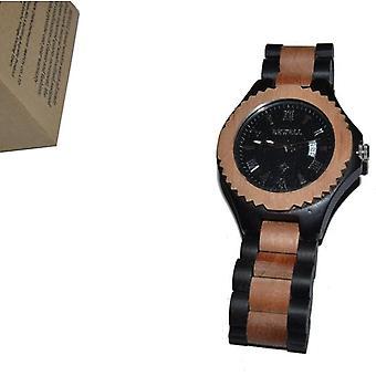 Bewell wood bracelet wood watch ebony jujube wood