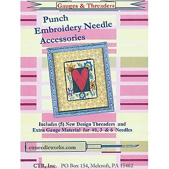 Punch Embroidery Needle Gauges & Threaders Ctrndla2