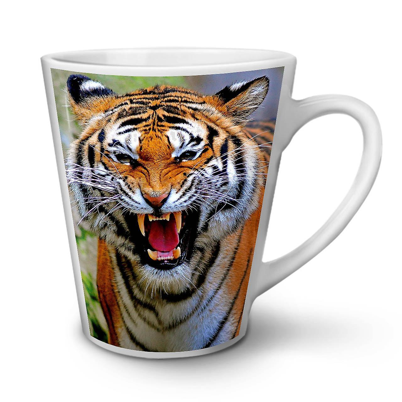 tiger foto katze tiere neue wei er tee kaffee keramik latte becher 12 oz wellcoda fruugo. Black Bedroom Furniture Sets. Home Design Ideas