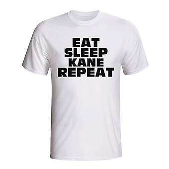 Eat Sleep Kane Repeat T-shirt (white) - Kids