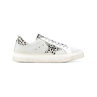 Golden Goose women's G32WS127H8 White leather of sneakers
