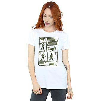 Disney Women's Toy Story The Plastic Platoon Boyfriend Fit T-Shirt