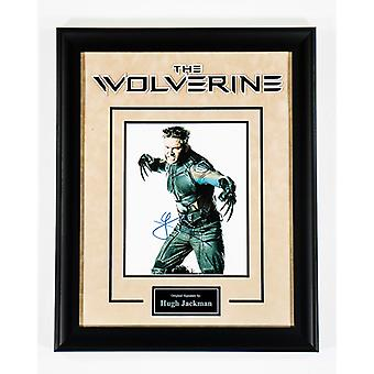 The Wolverine - Signed by Hugh Jackman - Framed Artist Series