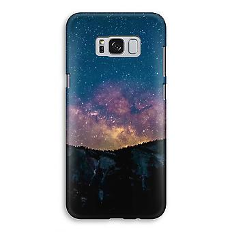 Samsung Galaxy S8 Full Print Case - Travel to space