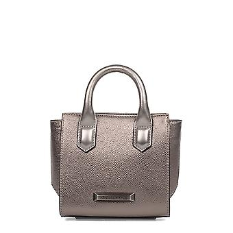 Kendall + Kylie women's HBKK416000292 silver leather handbags