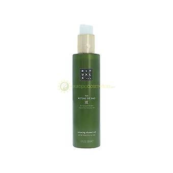Rituals Dao Caring Shower Oil Bringing Peace And Tranquility Into Your Life - White Lotus & Yi Yi Ren 200ml