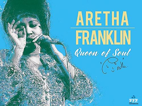 Aretha Franklin Poster Queen of Soul Music Art Print (24x18)