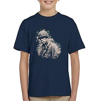 Lee Marvin In The Big Red One 1978 Kid's T-Shirt