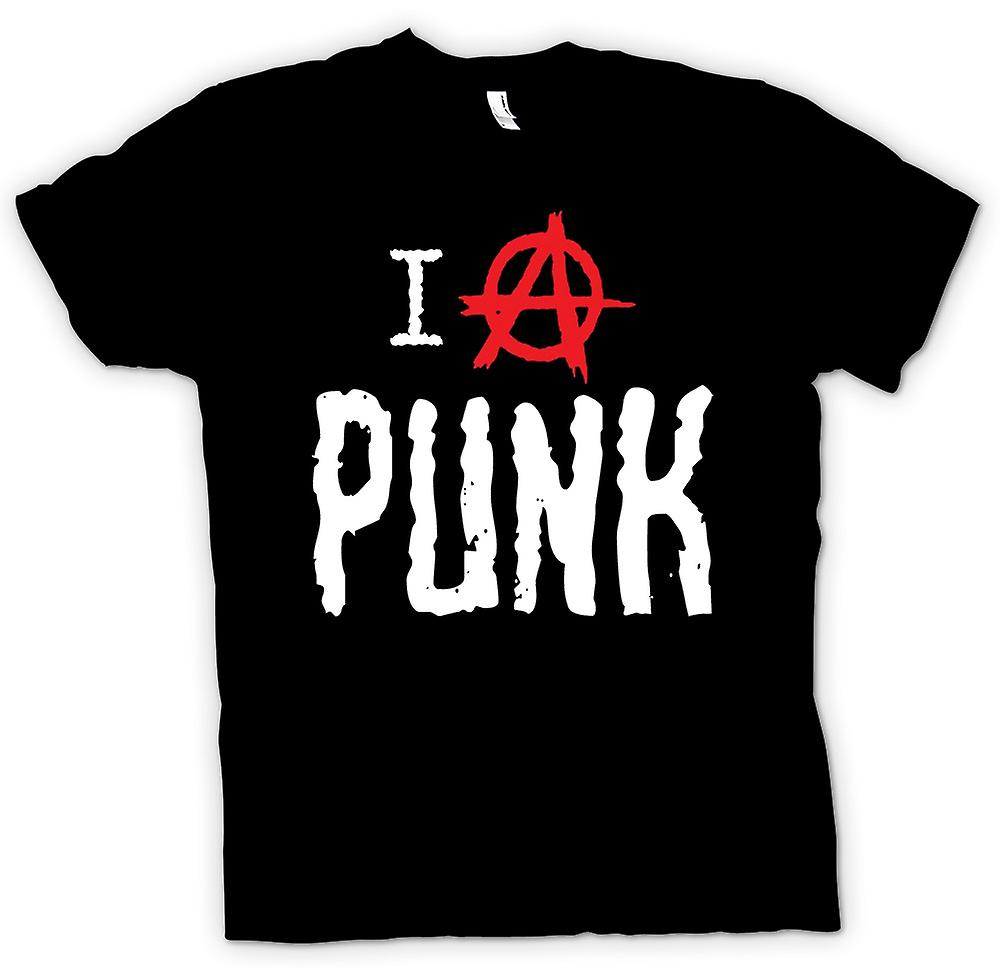 Kids T-shirt - I Love Punk - Funny