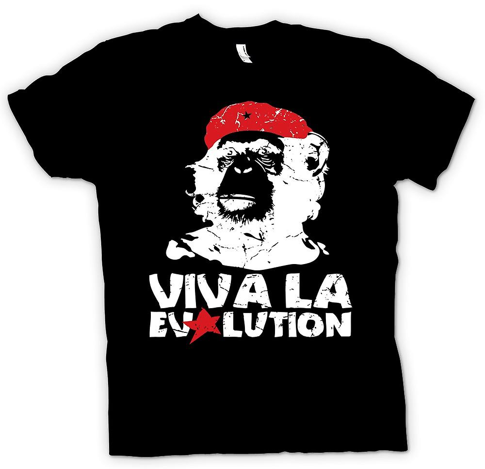 Mens T-shirt - Viva La Evolution - Che inspiriert