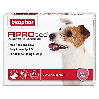 Beaphar FIPROtec pipeta para perro pequeño, 6 tratamientos