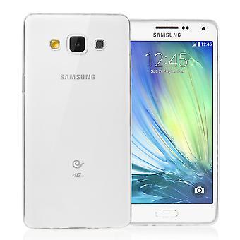 Yousave accesorios Samsung Galaxy A5 (2016) Ultra delgada Gel caso - claro