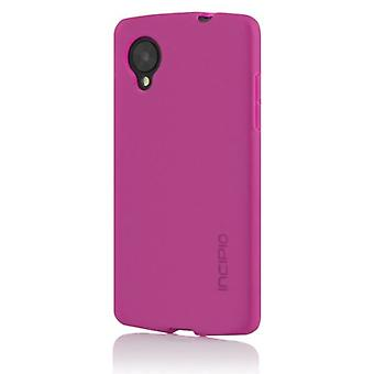 Incipio LG Nexus 5 NGP Case- Retail Packaging- Translucent Pink