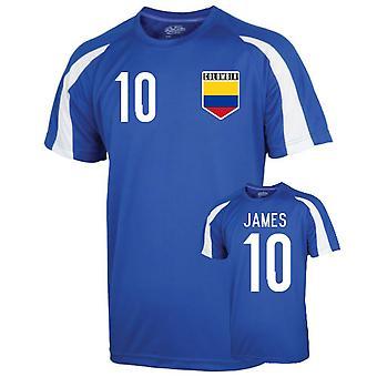 Colombie Entraînement sportif Jersey (james 10) - Enfants