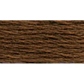 DMC 6-Strand Embroidery Cotton 8.7yd-Dark Coffee Brown