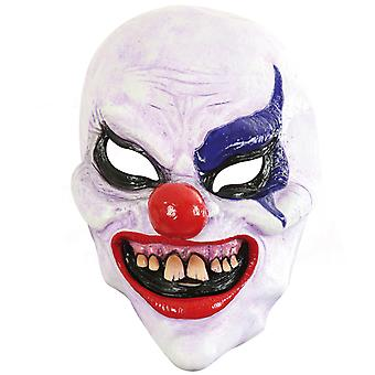 Horror clown LaTeX three quarters mask Halloween shocker