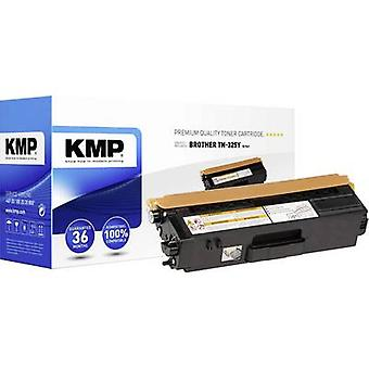 KMP Toner cartridge replaced Brother TN-325Y, TN325Y Compatible Yellow 3500 pages B-T41