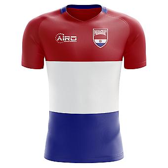 2018-2019 Paraguay Home Concept Football Shirt