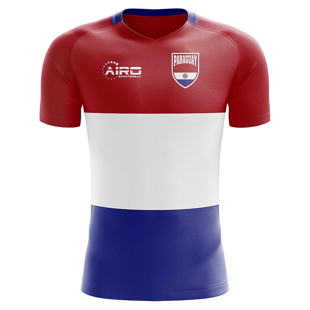 2018-2019 باراغواي مفهوم الوطن القميص لكرة القدم