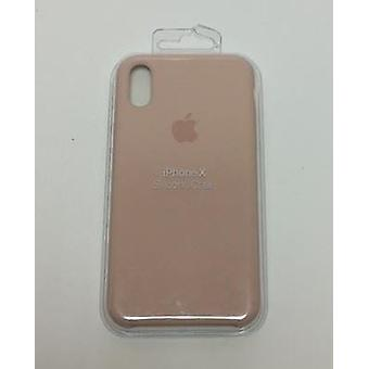 Apple MQT62ZM/A Silicone Case for iPhone X - Pink Sand
