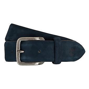 Ceinture en cuir Timberland ceintures hommes ceintures 7439 Blue Suede