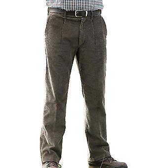 Champion Truro Mens Classic Single Pleat Front Corduroy Trouser