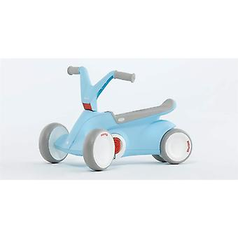 BBERG GO2 2 in 1 Push and Pedal Go Kart Blue