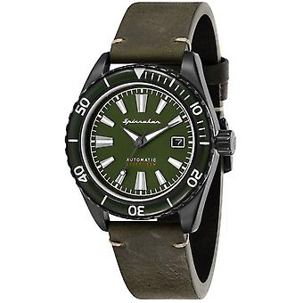 Spinnaker Fleuss Watch - Green