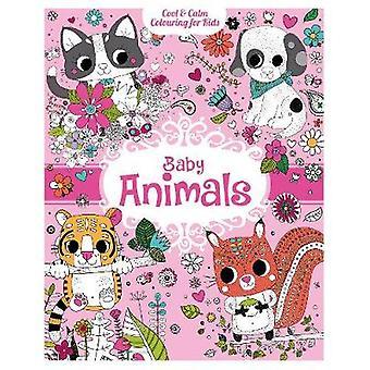 Cool & ruhige Farbgebung für Kinder - Baby-Tiere von Stephanie Rousseau-