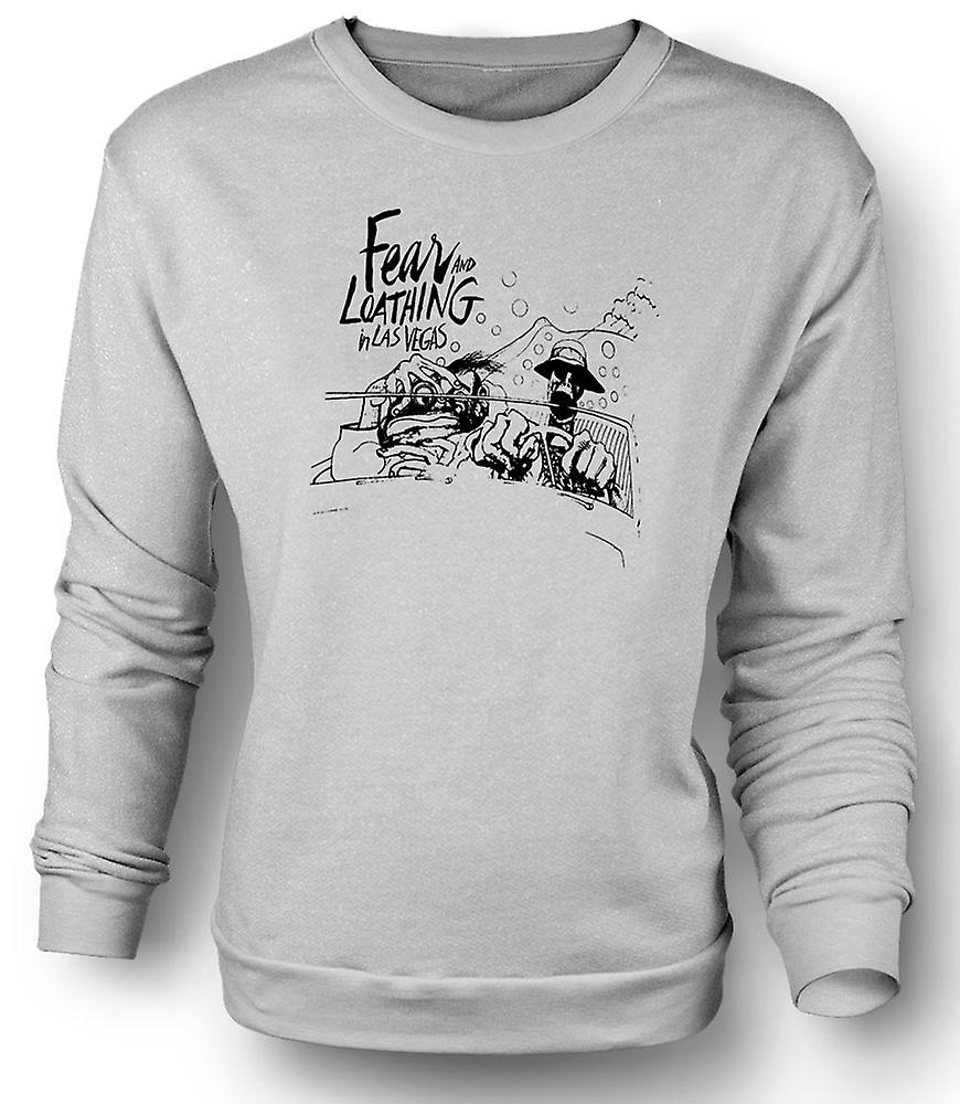 Mens Sweatshirt Fear And Loathing - dessin animé - drôle