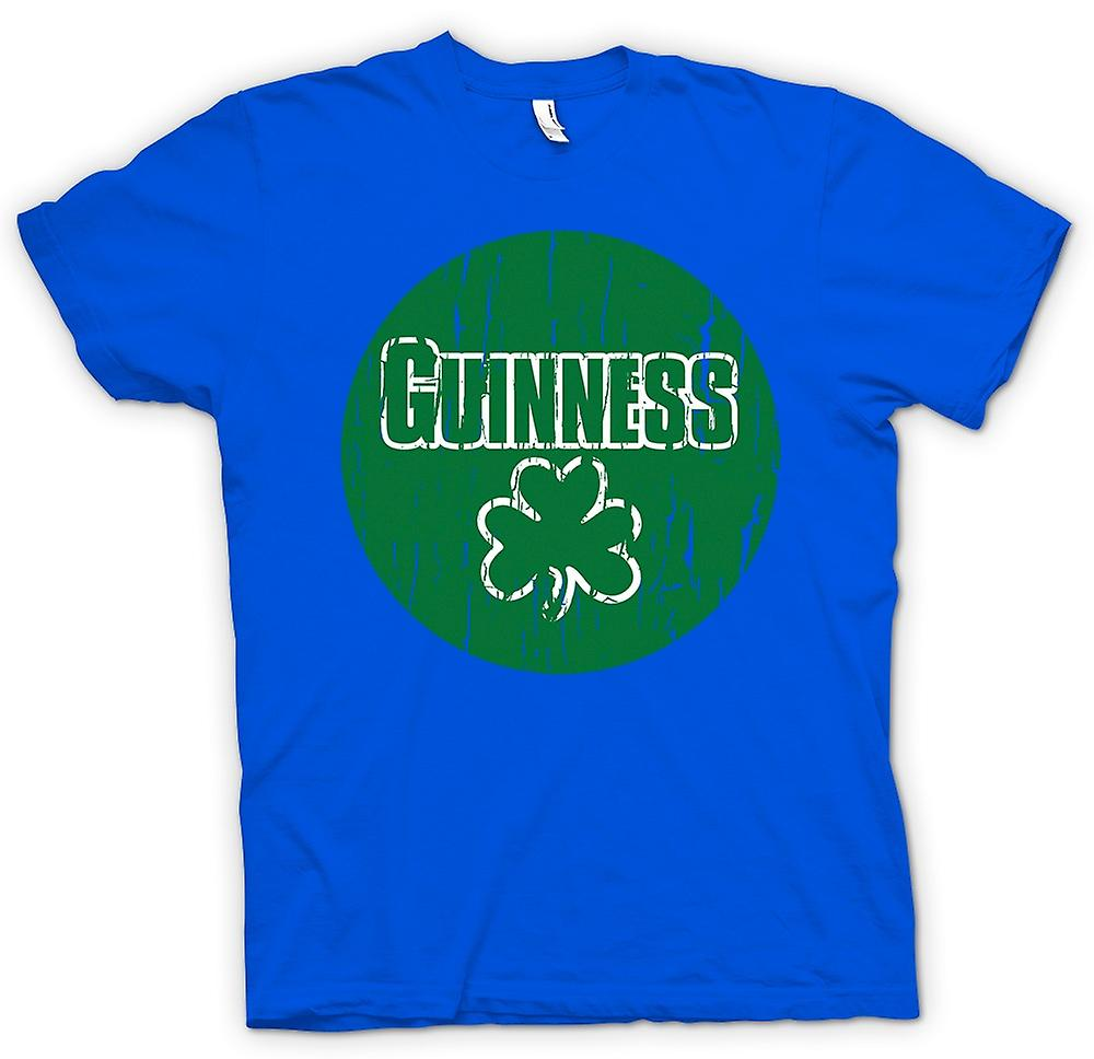 Heren T-shirt-St Patricks Day Ierse Guinness