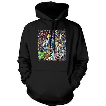 Kids Hoodie - Marvel Comic Super Hero - Collage