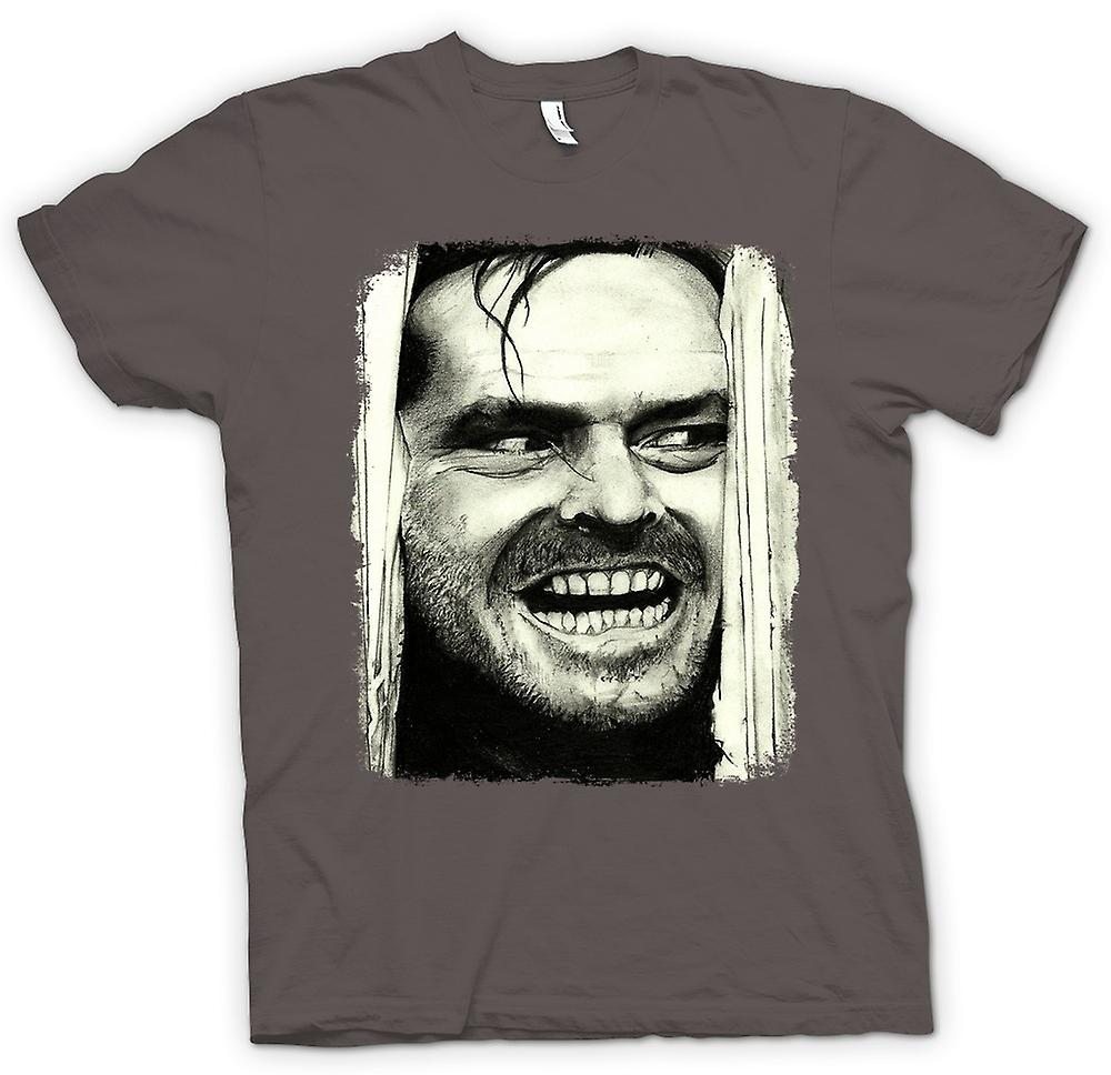 Hommes T-shirt - The Shining - Jack Heres Johnny