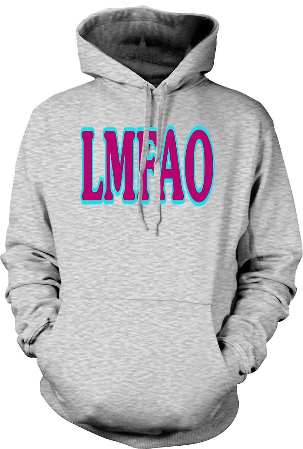 Mens Hoodie - Lmfao - Funny