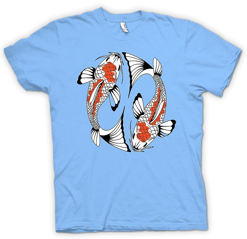 Mens T-shirt - Koi Carp Cool Fish