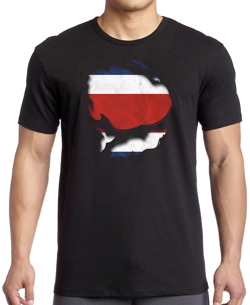 Dominikanska republiken slet effekt Under skjorta T Shirt