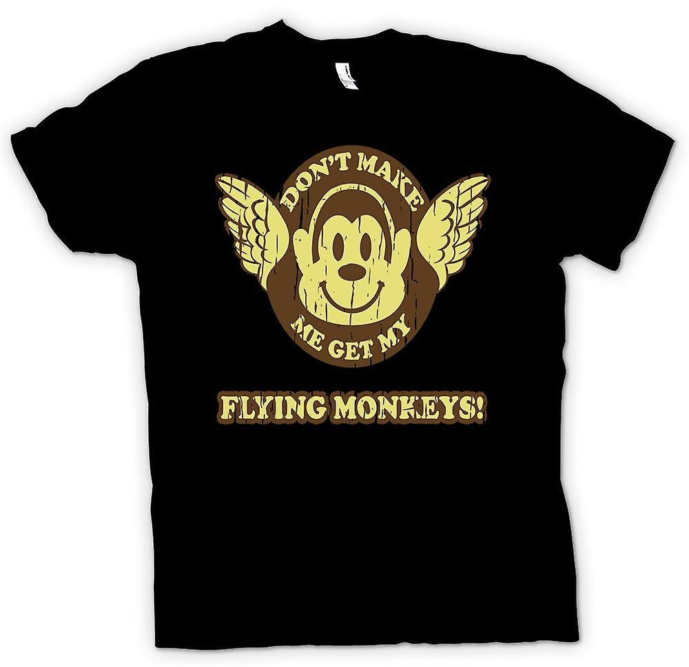Kids T-shirt - Don�t Make Me Get My Flying Monkees - Wizard Of Oz Inspired
