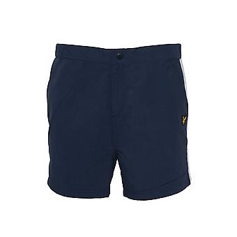 Lyle & Scott Lyle & Scott Navy lado raya Swim Shorts
