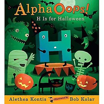 AlphaOops: H es para Halloween