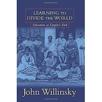 Aprendendo a dividir o mundo: educação no final do Império