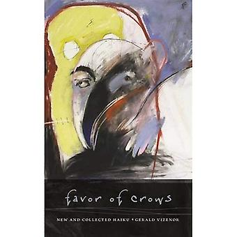 Favor of Crows: New and Collected Haiku (Wesleyan Poetry)