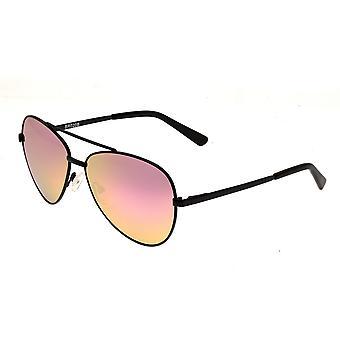 Bertha Bianca Polarized Sunglasses - Black/Pink