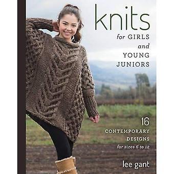 Stickat för tjejer och unga juniorer: 17 modern design för storlekar 6 till 12