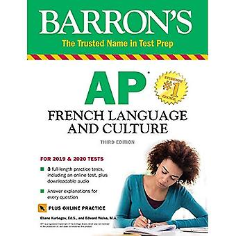 Barron's AP French Language� and Culture with Online Test & Downloadable Audio